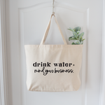 Saved By Grace Drink Water Tote