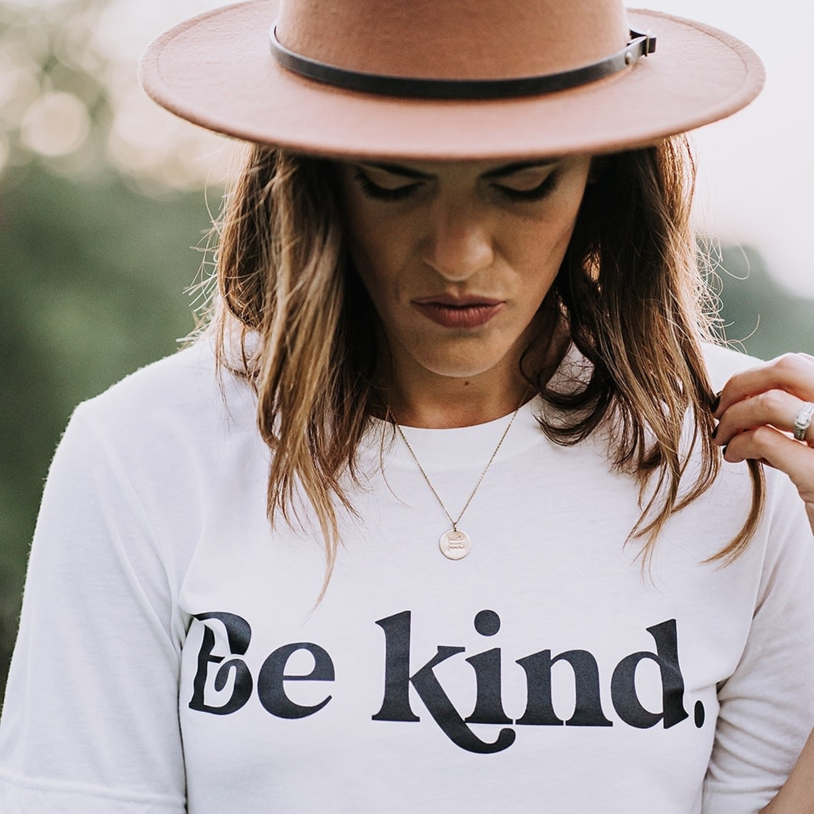 Saved By Grace Be Kind Tee