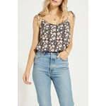 Gentle Fawn Floral Print Tank