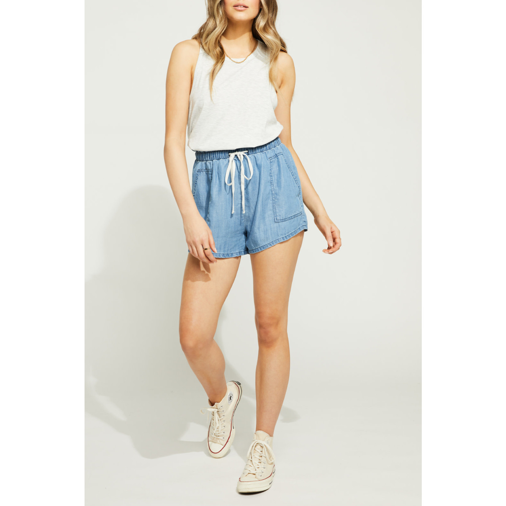 Gentle Fawn Chambray shorts