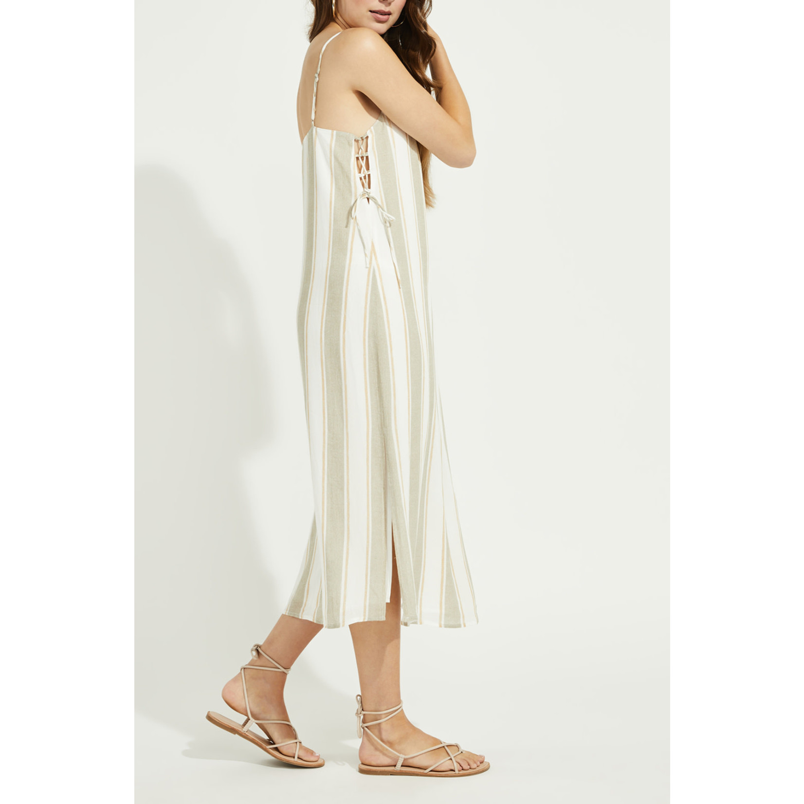 Gentle Fawn Side Lace Up Dress