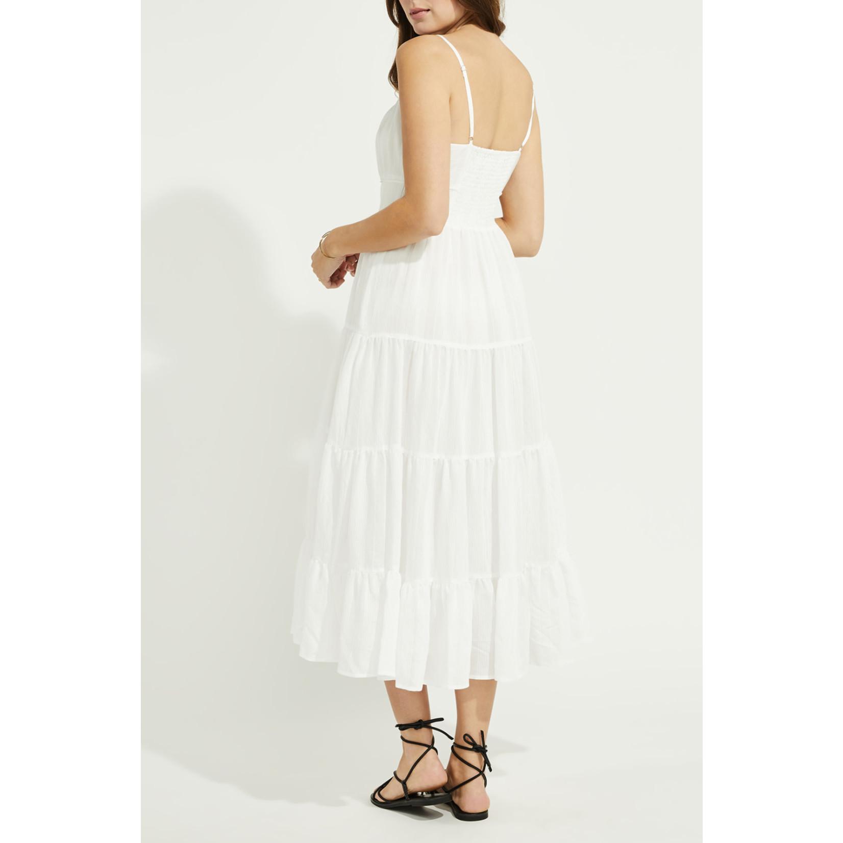 Gentle Fawn Tiered Midi Dress