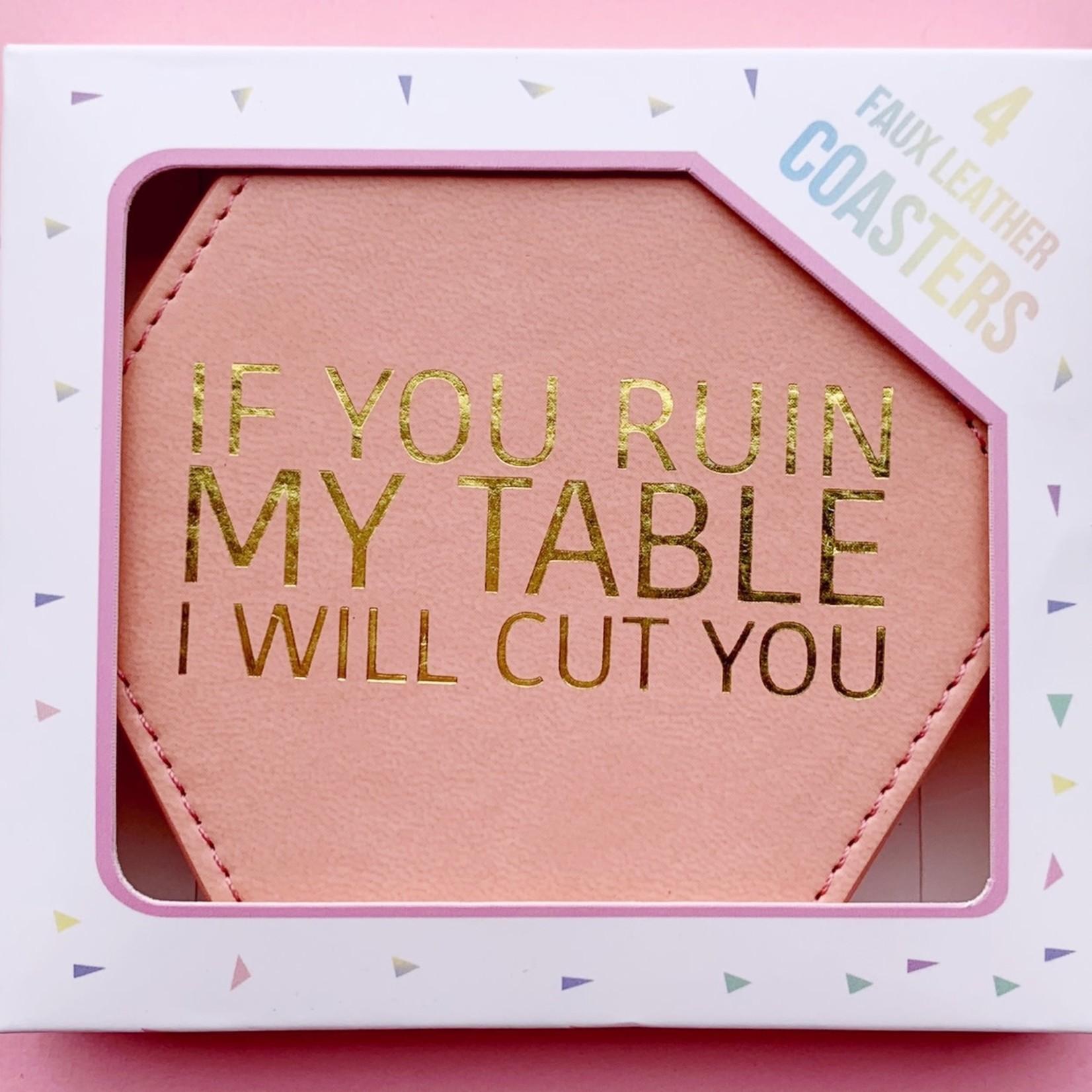 Fun Club Ruin Table Coaster