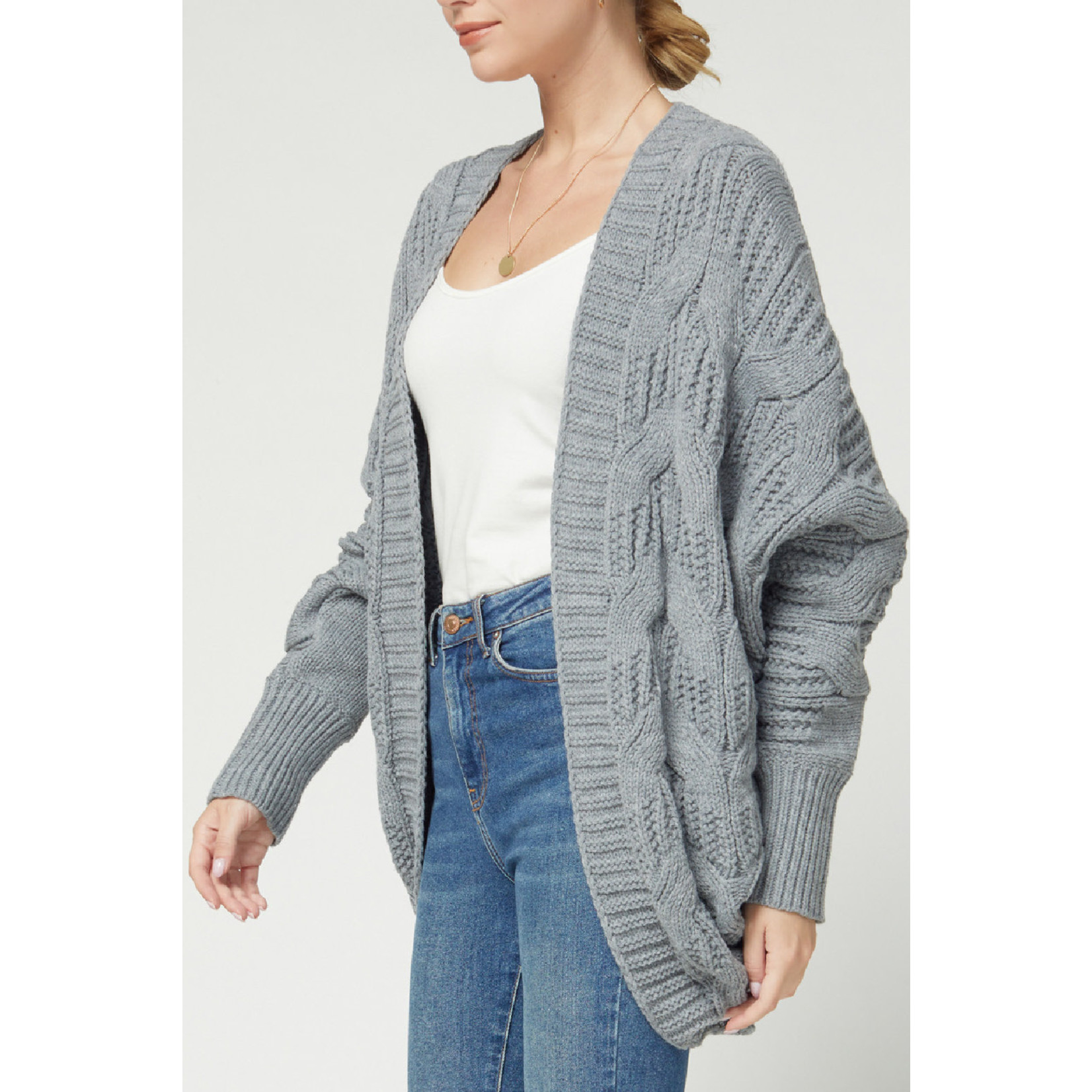 Entro Cable Knit Cardigan