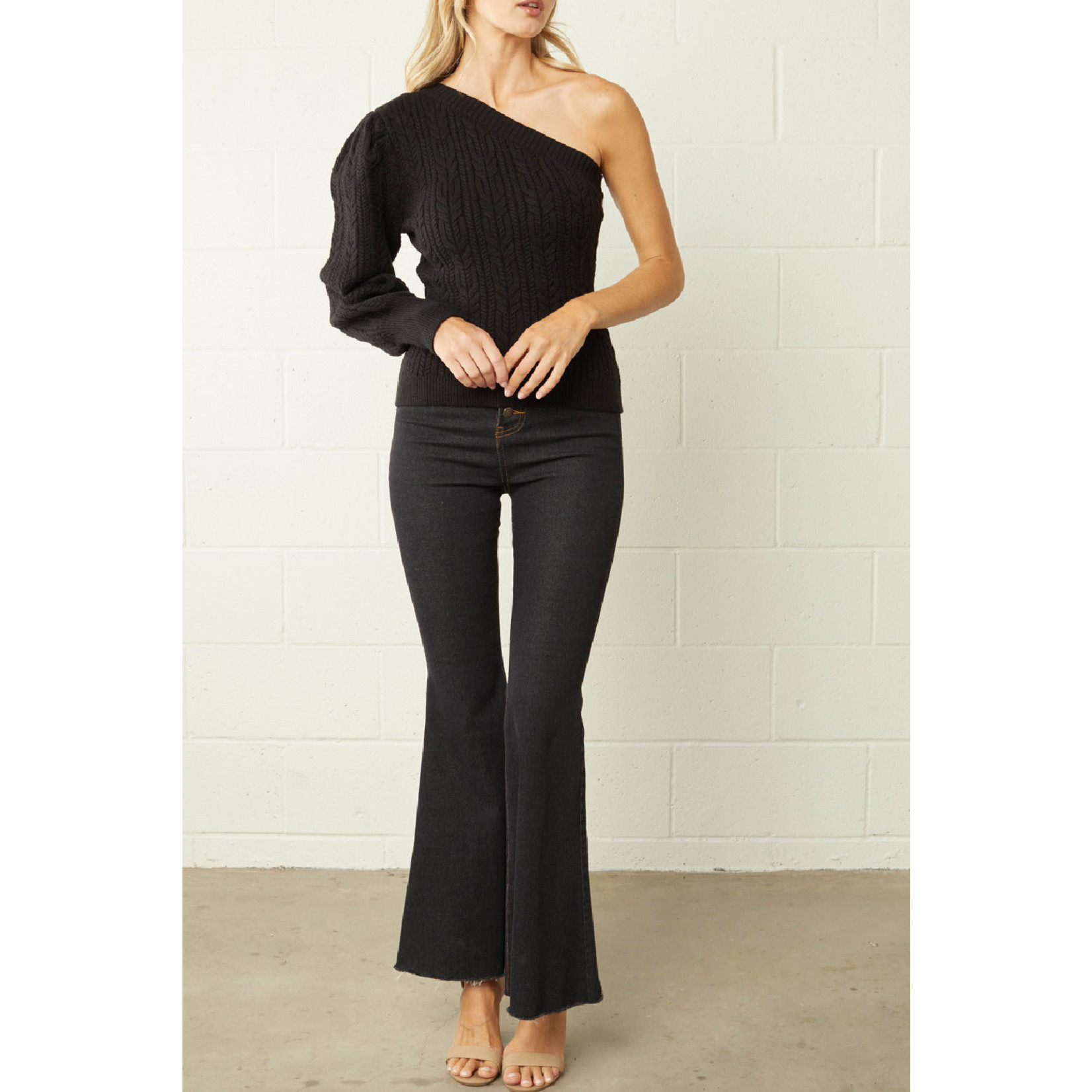 Entro One Shoulder Sweater