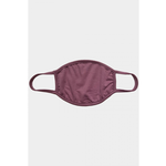 Coin 1804 Solid Mauve Mask