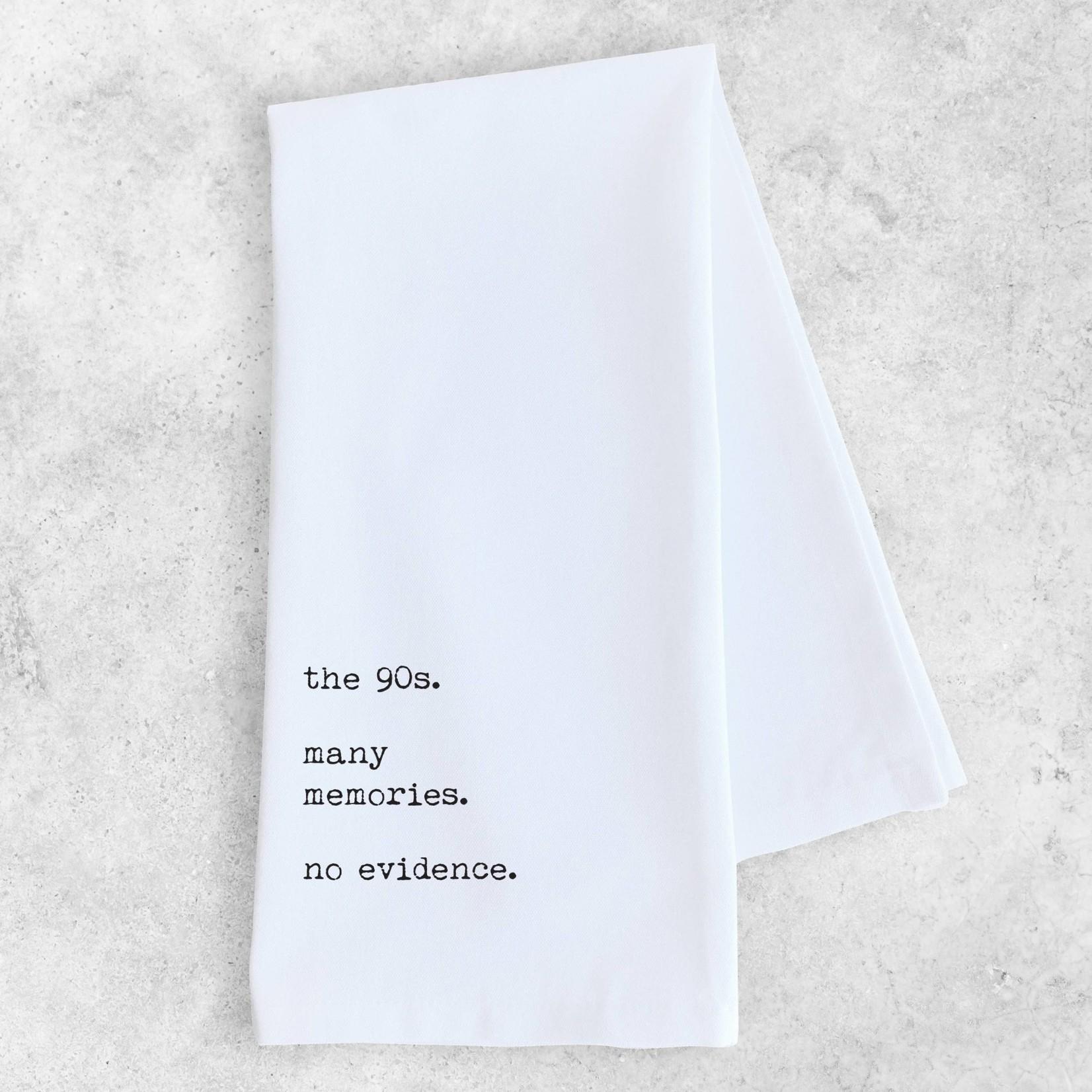 Devenie Designs 90's Tea Towel