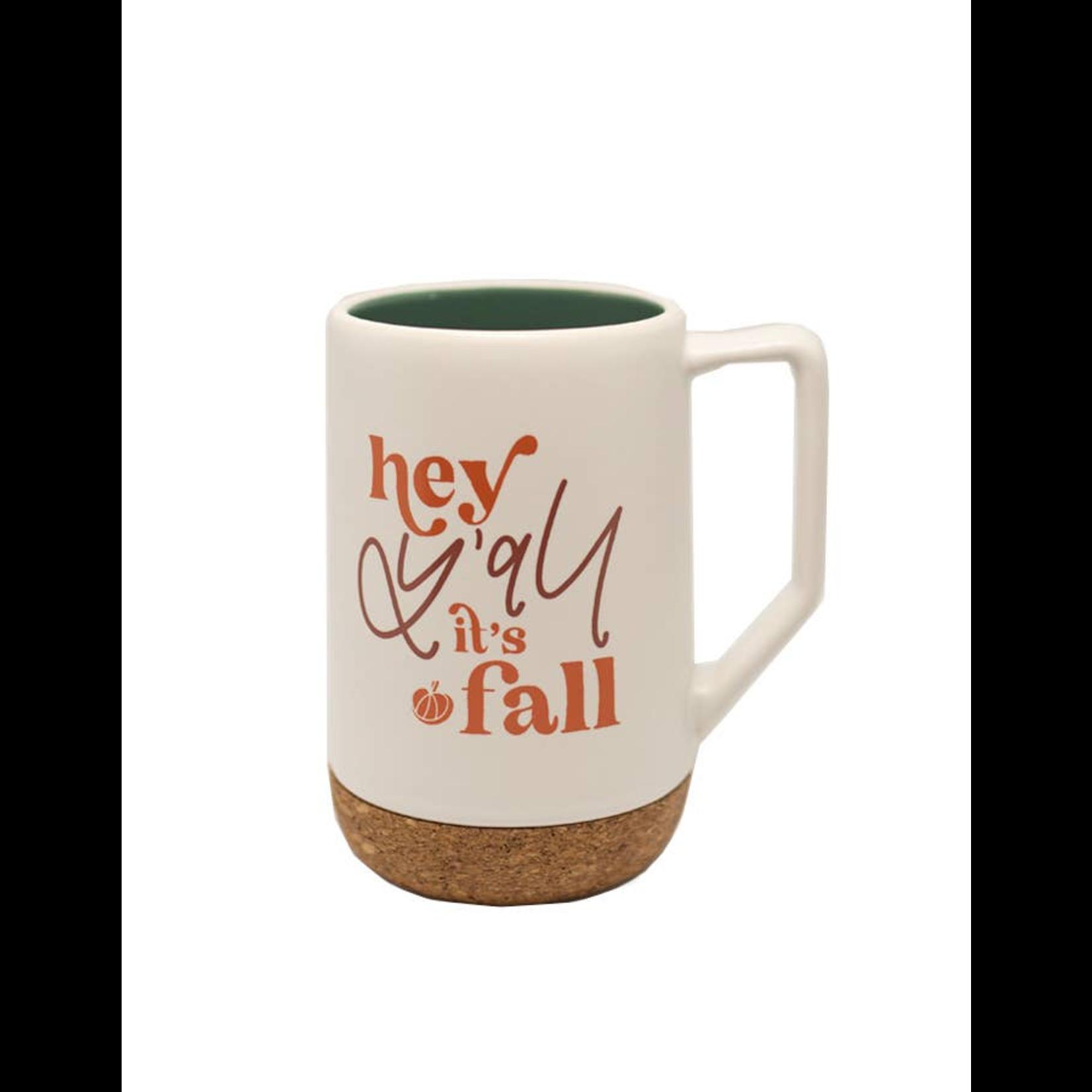 Chalkfulloflove Fall Y'all mug