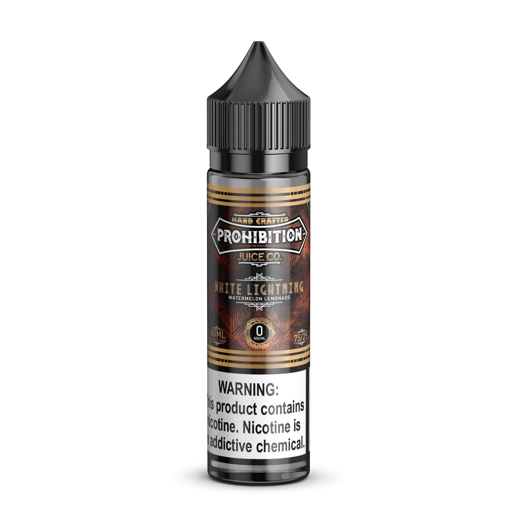 Prohibition White Lightning