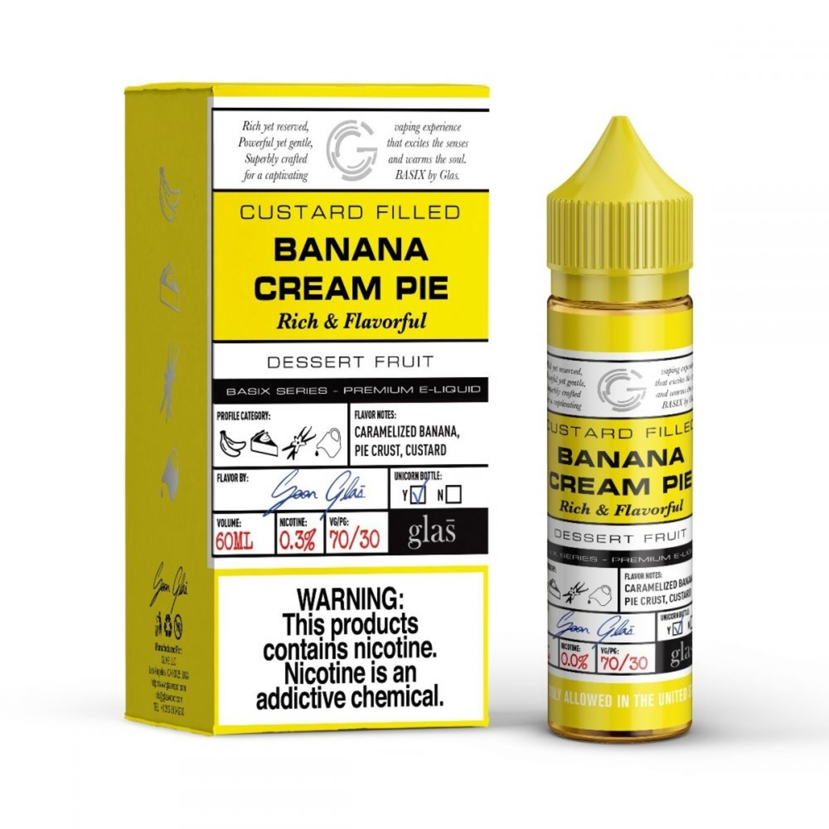 Glas BSX Banana Cream Pie