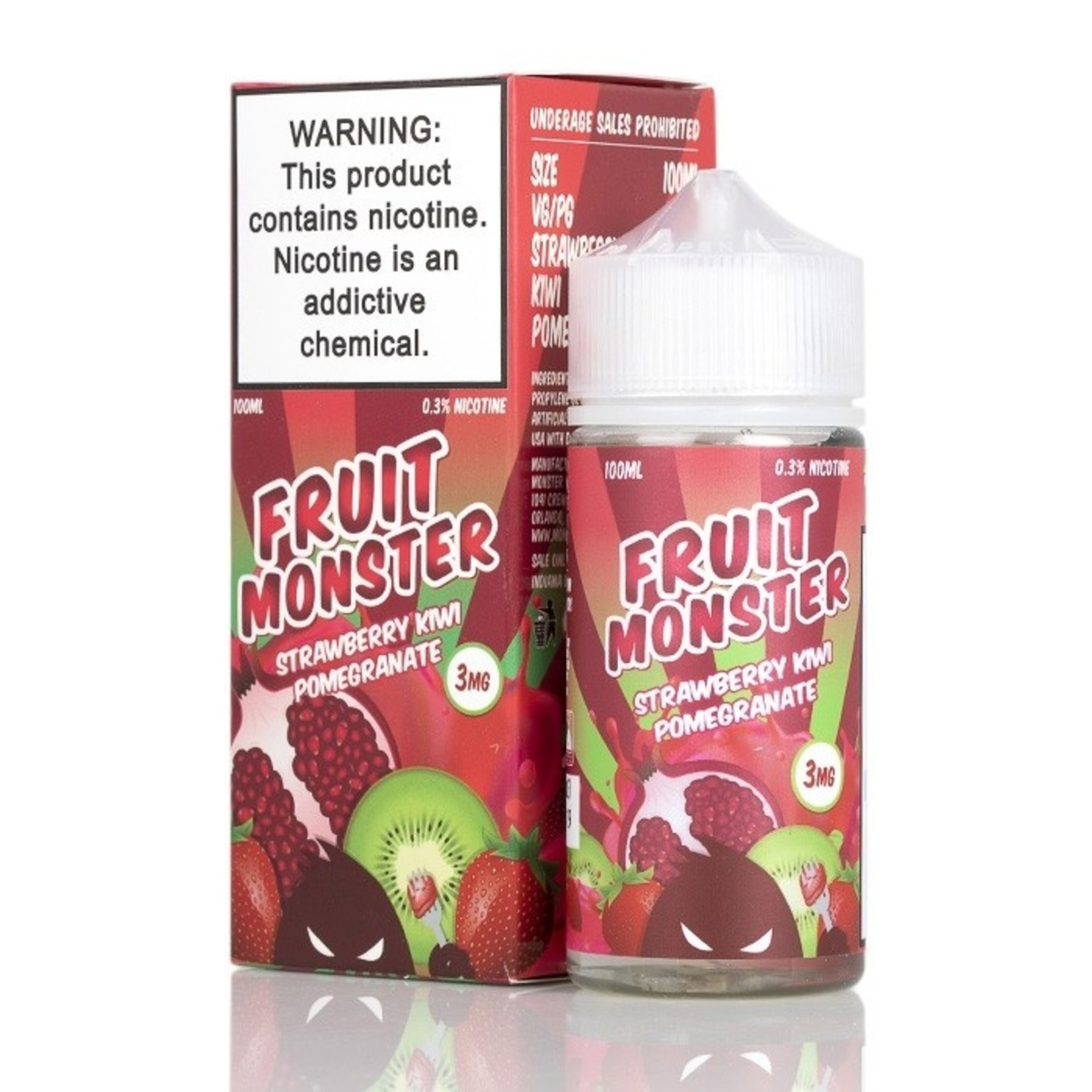 Fruit Monster Strawberry Kiwi Pomegranate