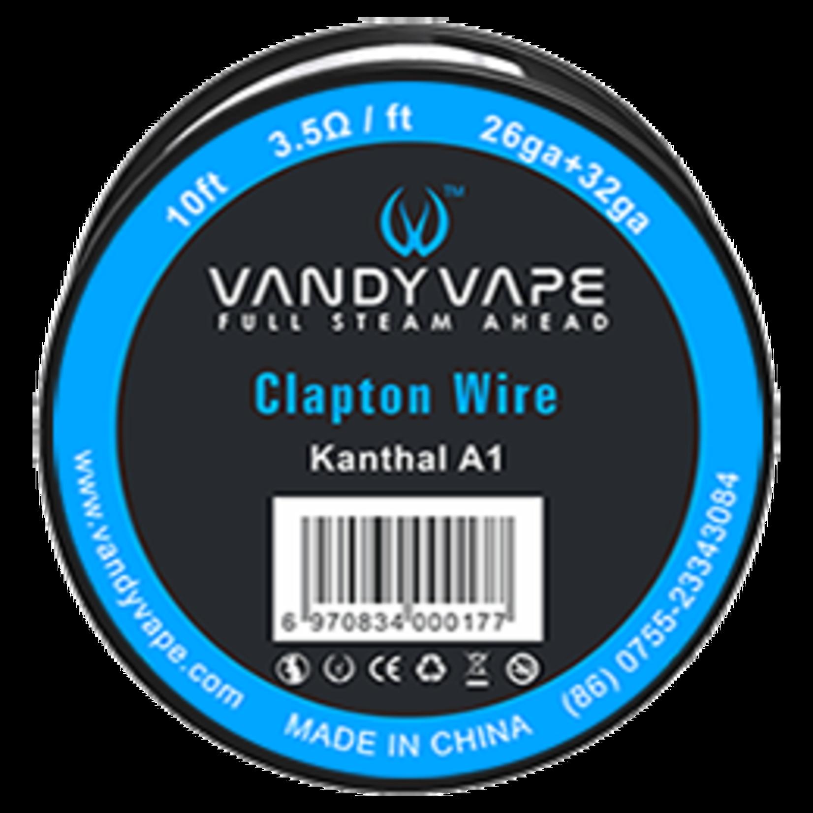 VandyVape Fused Clapton Wire 26ga & 32ga