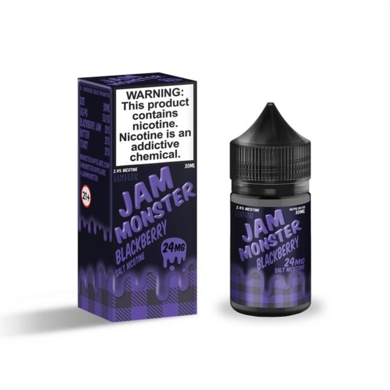 Jam Monster Blackberry Nic Salt