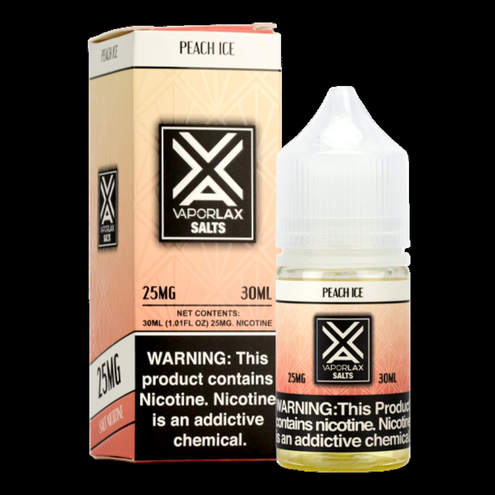 VaporLax Salts Peach Ice Nic Salt
