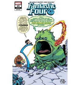 Marvel Comics FANTASTIC FOUR #25 YOUNG VAR EMP