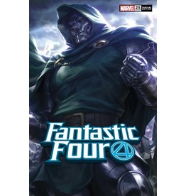Marvel Comics FANTASTIC FOUR #25 ARTGERM VAR