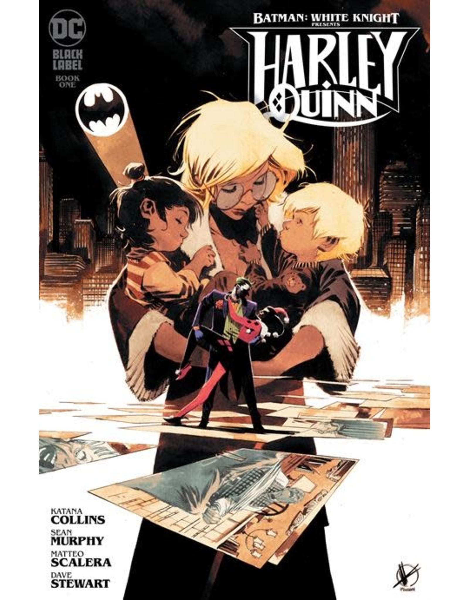 DC Comics BATMAN WHITE KNIGHT PRESENTS HARLEY QUINN #1 (OF 6) CVR B MATTEO SCALERA VAR