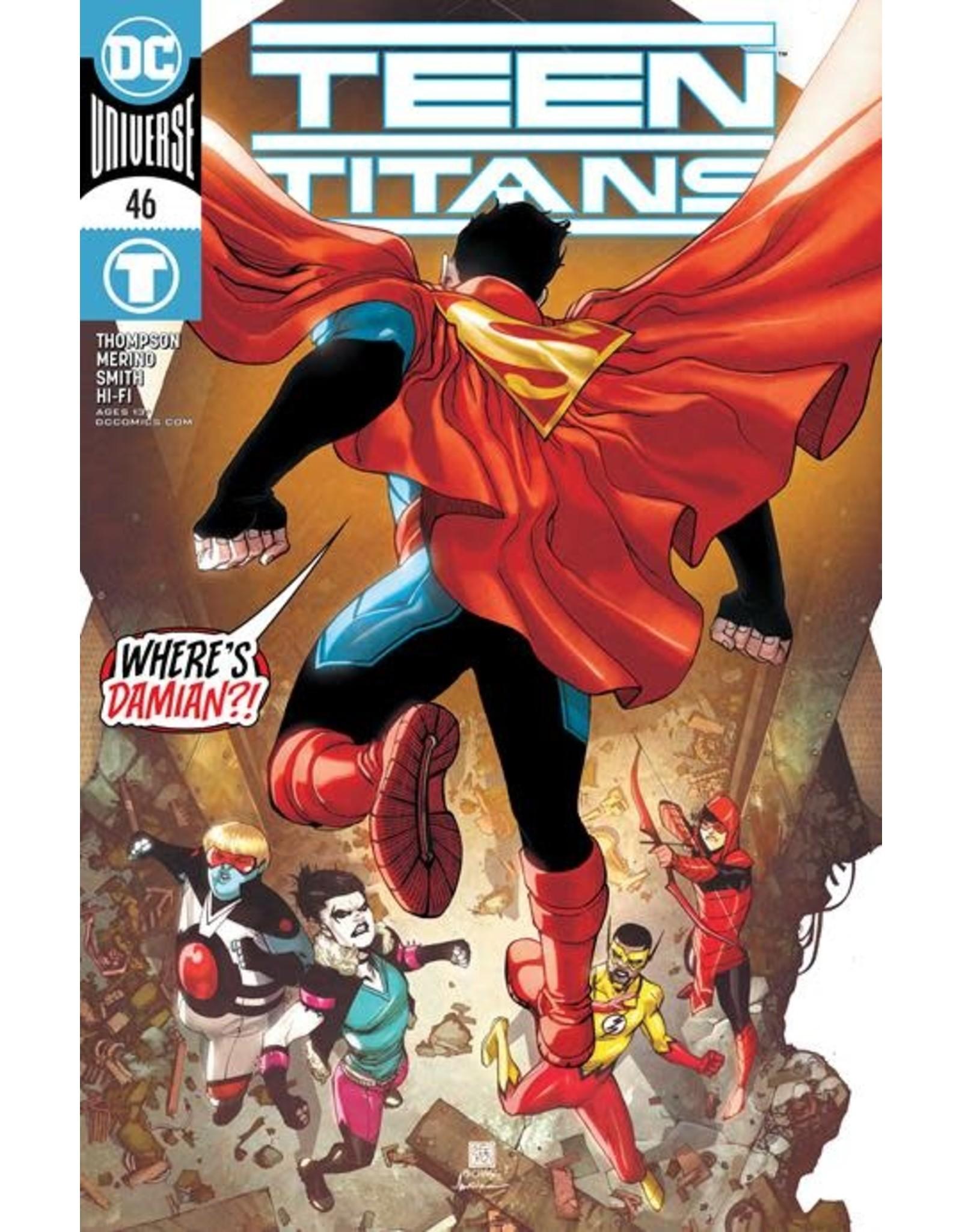 DC TEEN TITANS #46 CVR A BERNARD CHANG