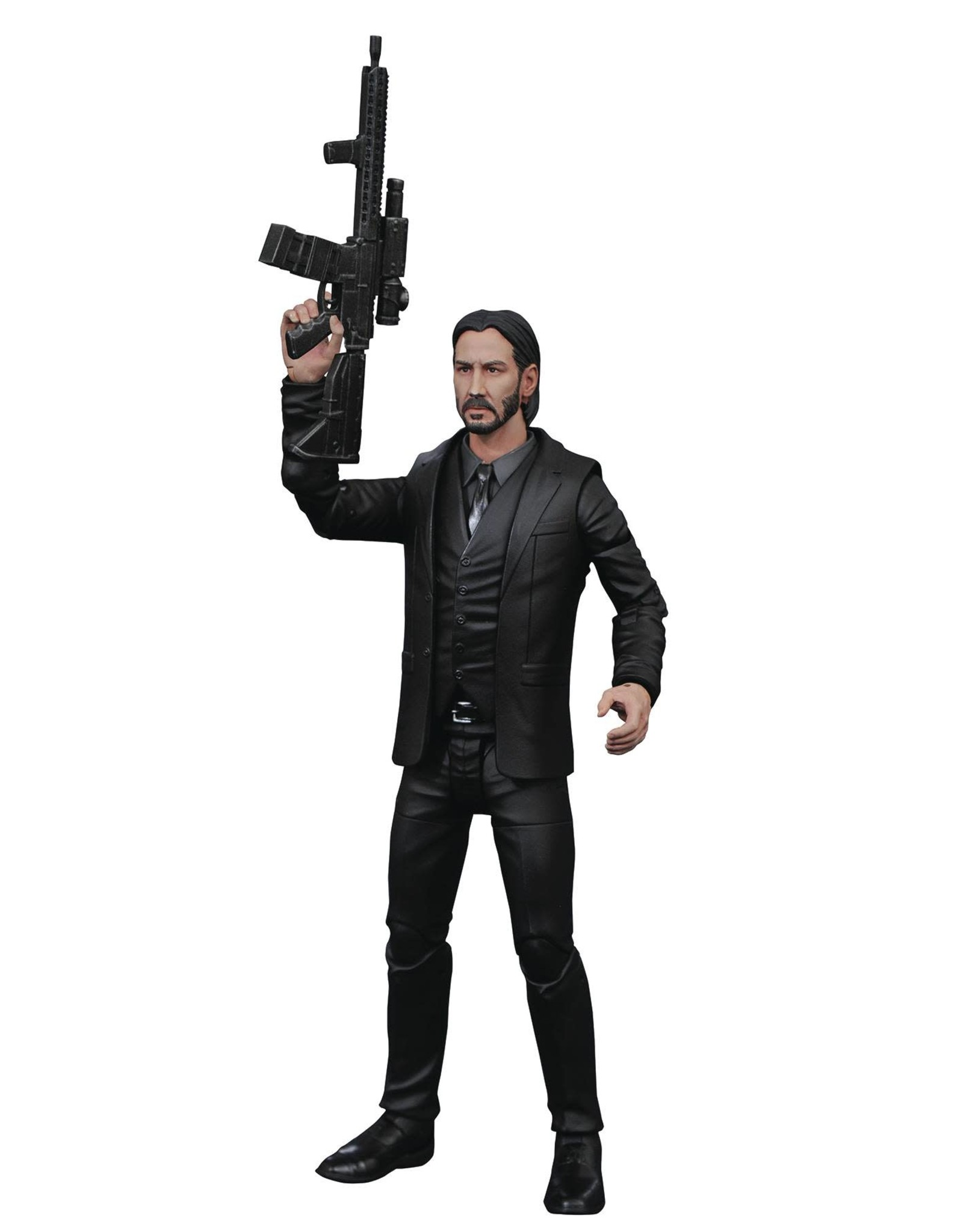 Diamond Select JOHN WICK SELECT BLACK SUIT FIGURE (C: 1-1-2)