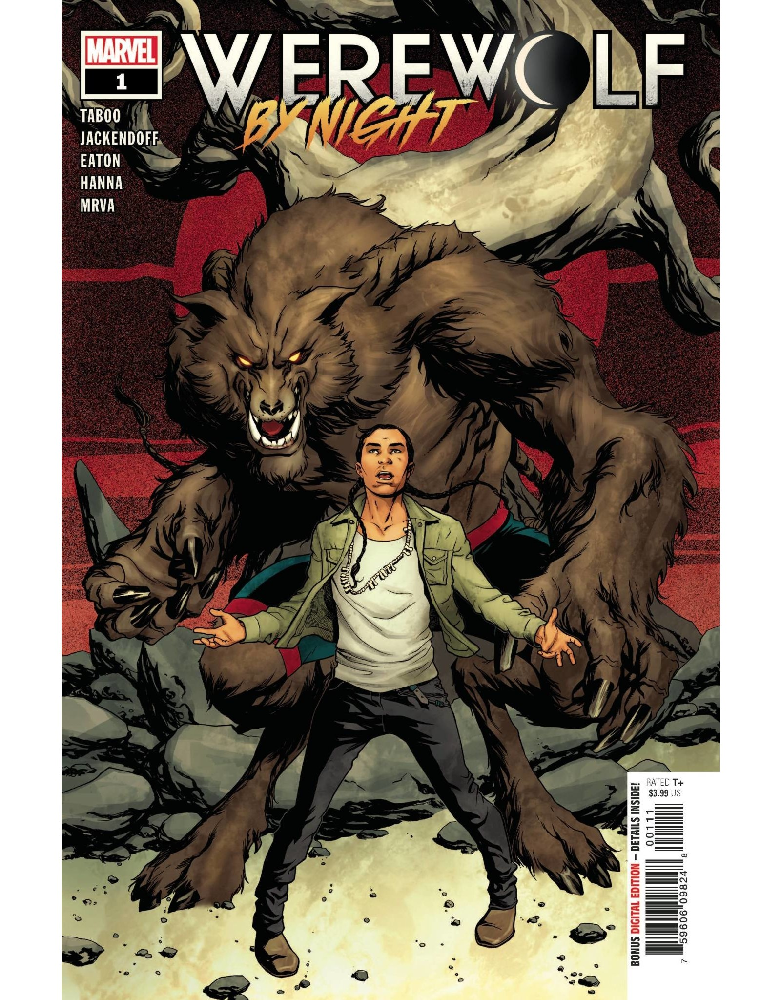 Marvel Comics WEREWOLF BY NIGHT #1 (OF 4)