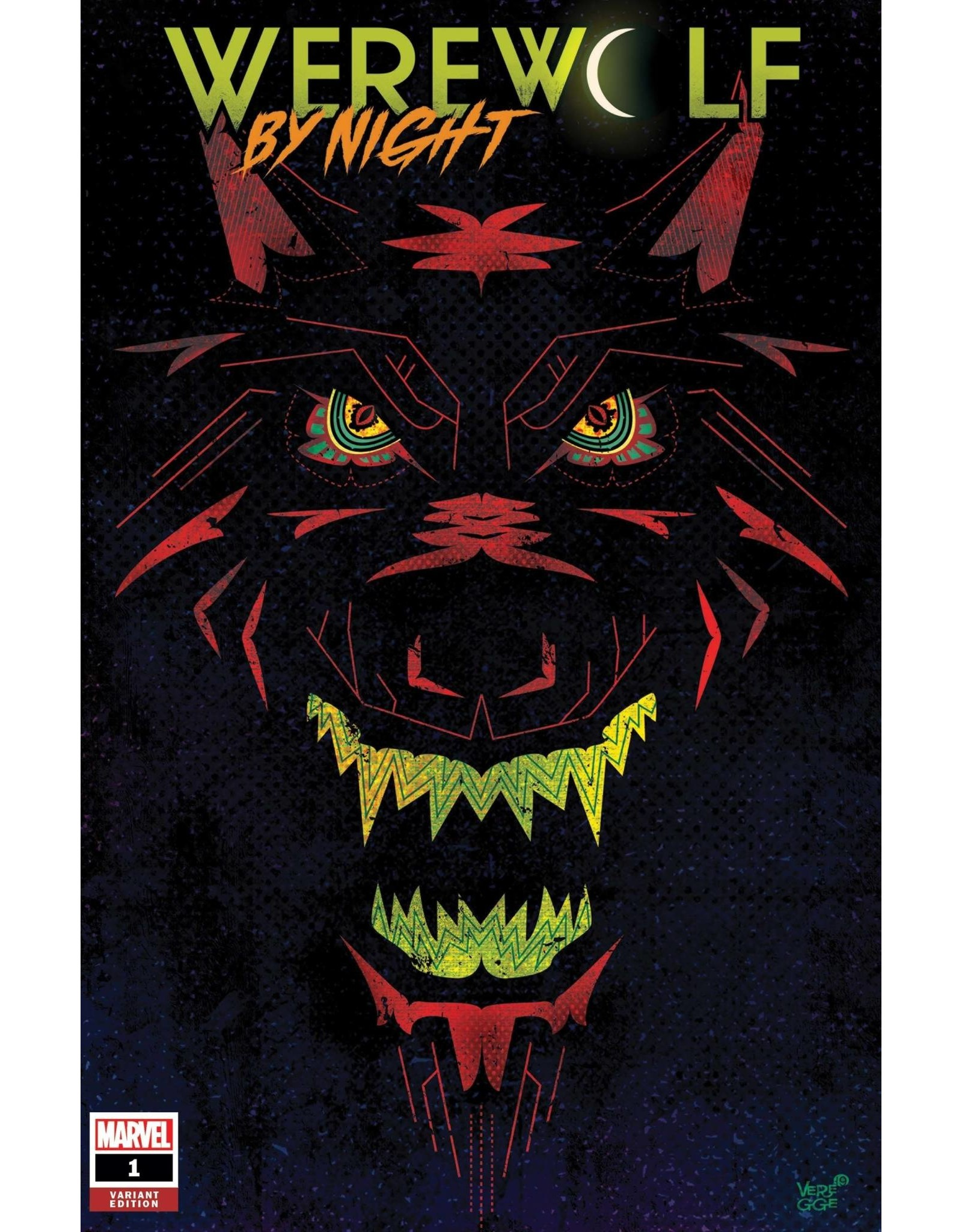 Marvel Comics WEREWOLF BY NIGHT #1 (OF 4) VEREGGE VAR