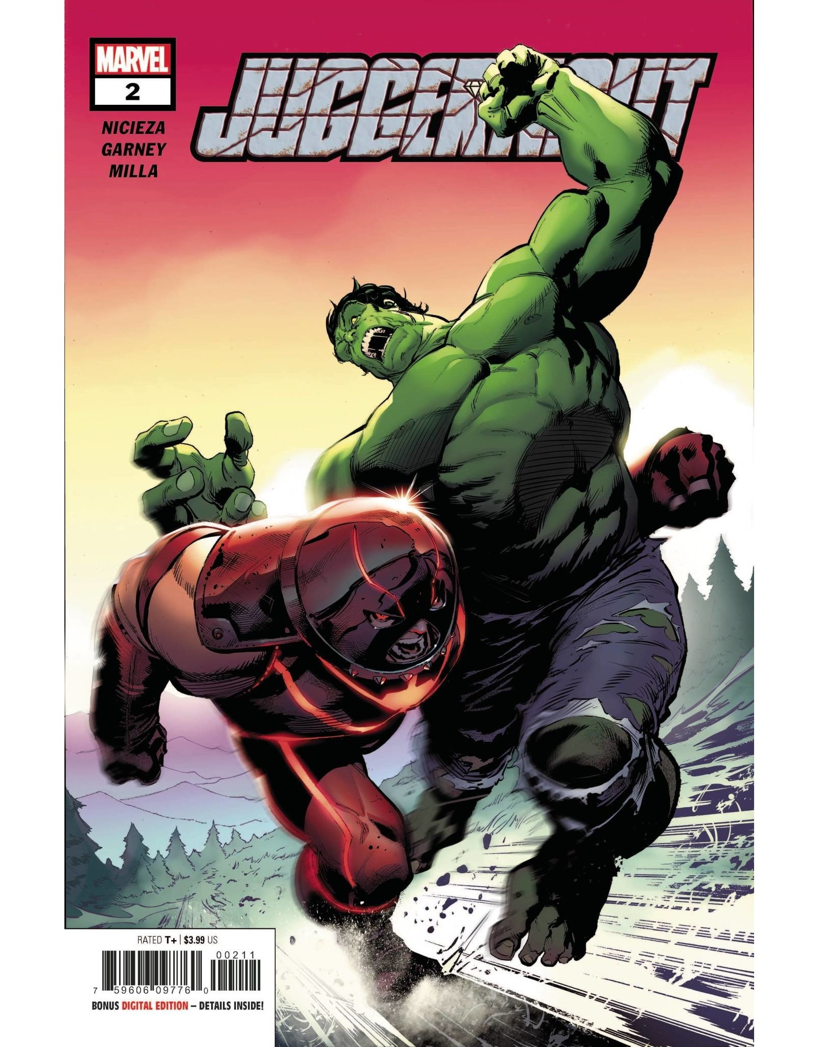 Marvel Comics JUGGERNAUT #2 (OF 5) DX