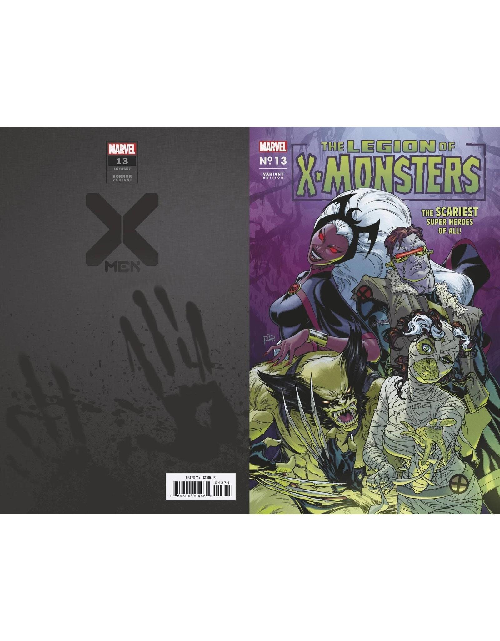 Marvel Comics X-MEN #13 DAUTERMAN LEGION X-MONSTERS HORROR VAR XOS