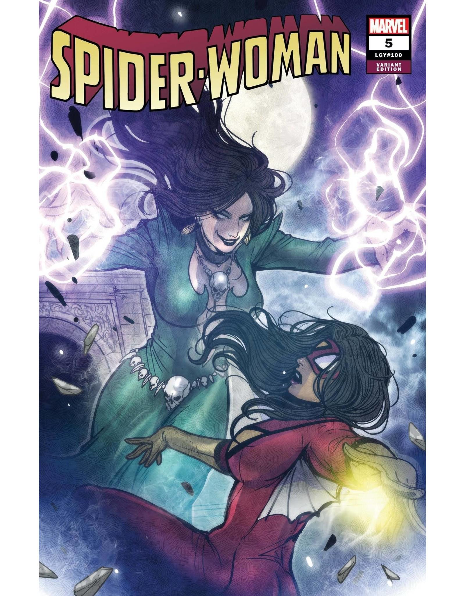 Marvel Comics SPIDER-WOMAN #5 TAKEDA VILLAIN VAR