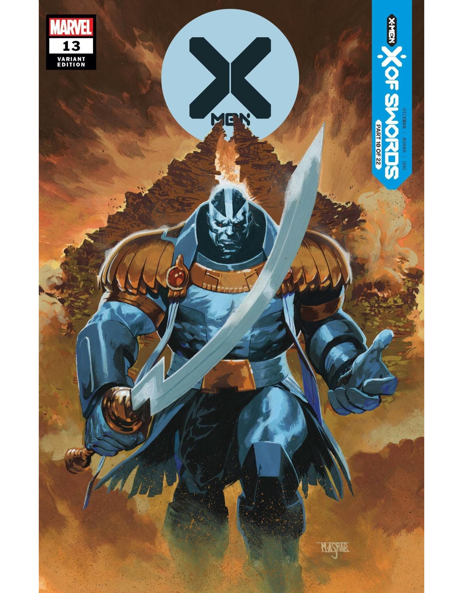 Marvel Comics X-MEN #13 ASRAR VAR XOS