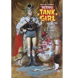 ALBATROSS FUNNYBOOKS KING TANK GIRL #1 (OF 5) CVR B POWELL CARDSTOCK
