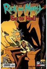 ONI PRESS INC. RICK AND MORTY GO TO HELL #5 CVR A