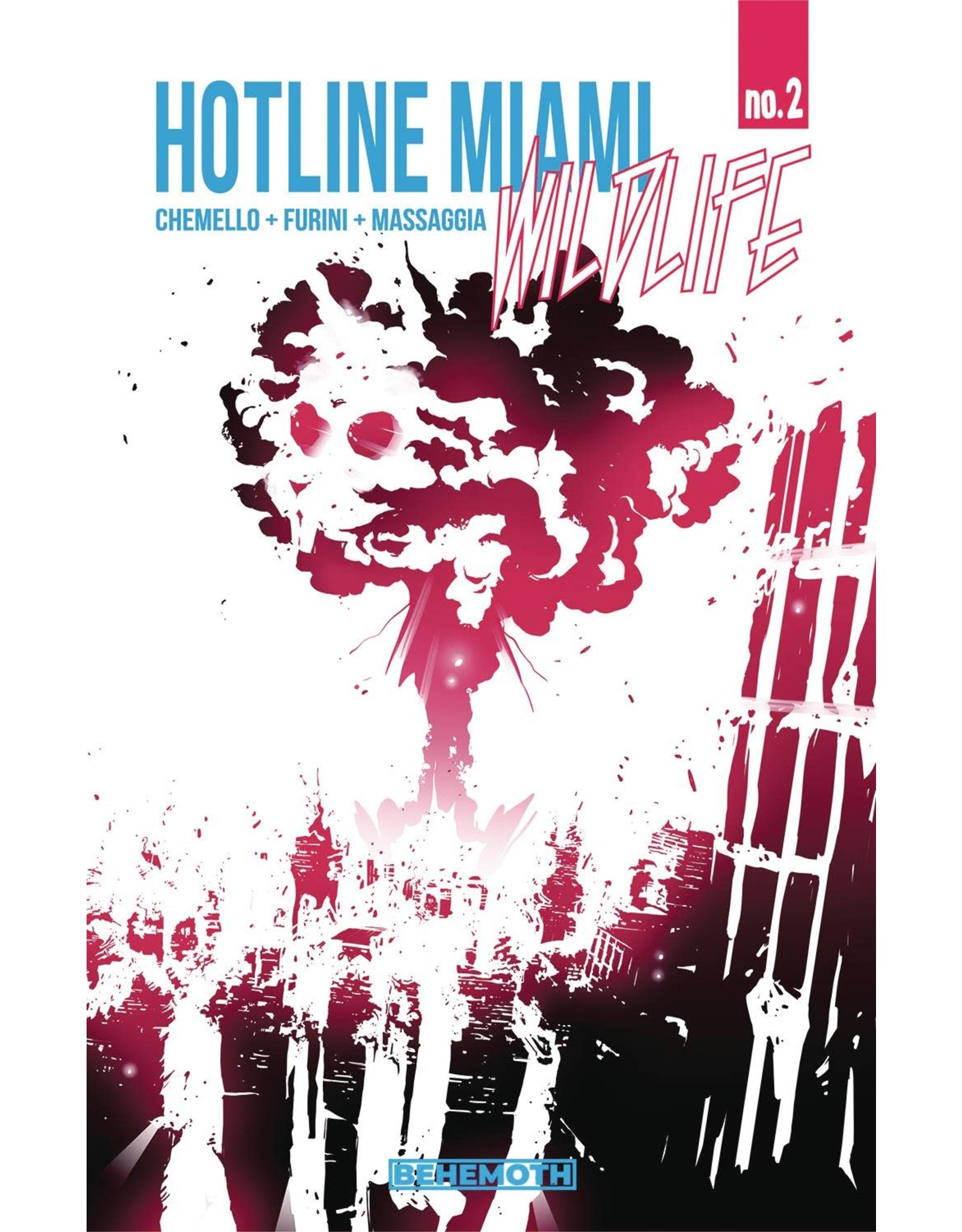 BEHEMOTH COMICS HOTLINE MIAMI WILDLIFE #2 (OF 8) (MR)