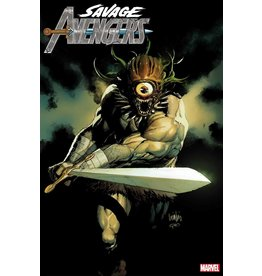 Marvel Comics SAVAGE AVENGERS #12 YU VAR