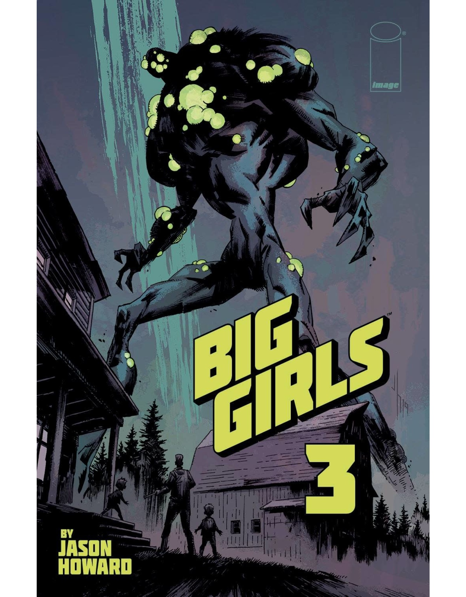 Image Comics BIG GIRLS #3