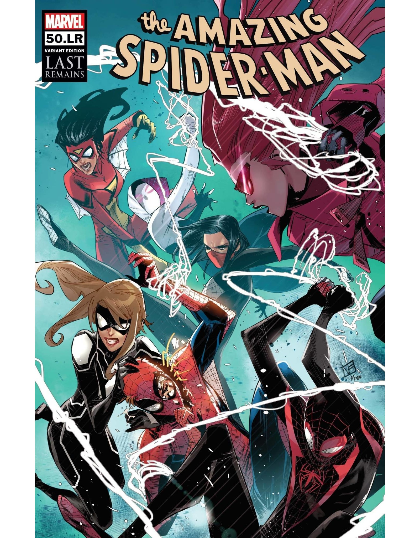 Marvel Comics AMAZING SPIDER-MAN #50.LR VICENTINI VAR