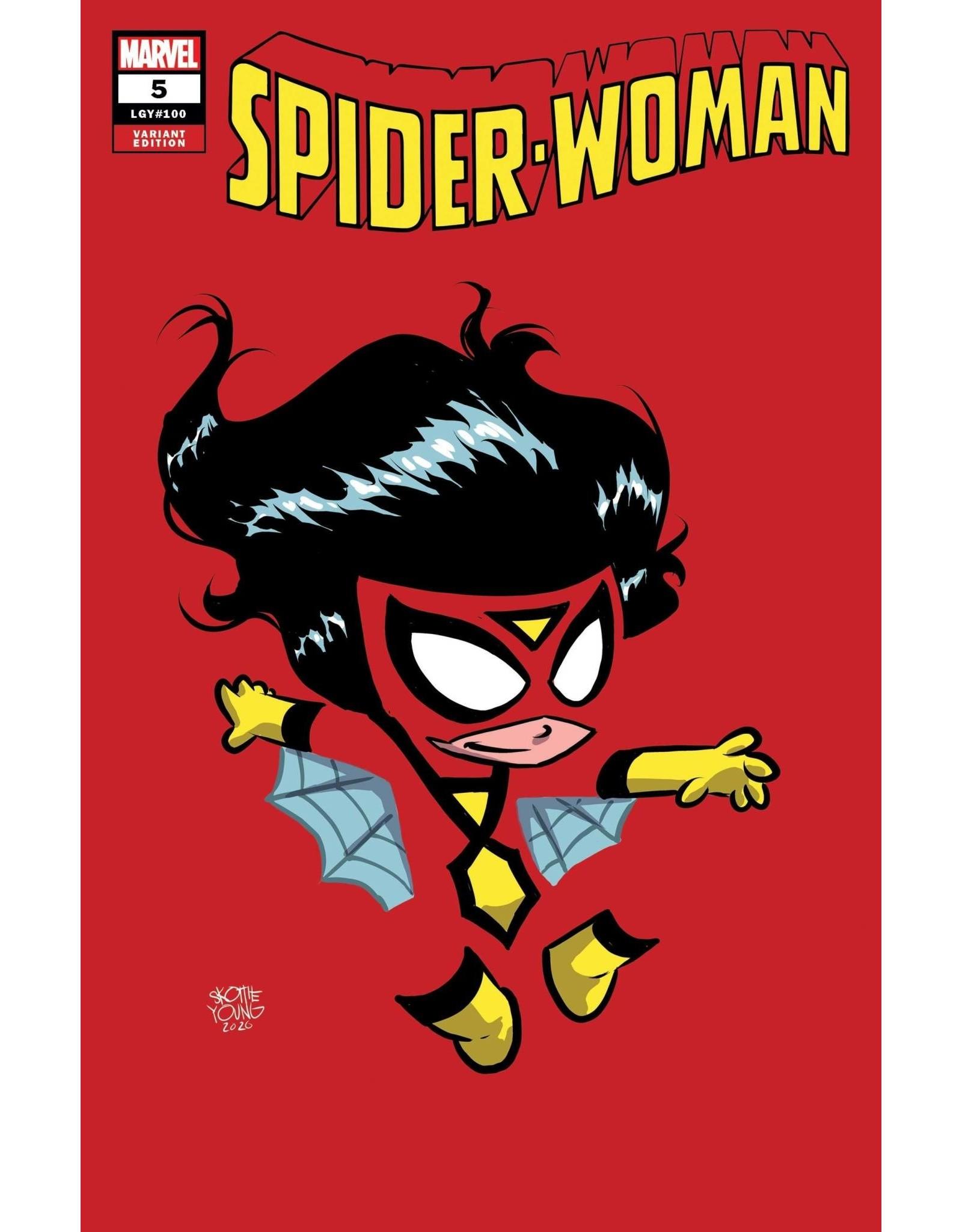 Marvel Comics SPIDER-WOMAN #5 YOUNG VAR