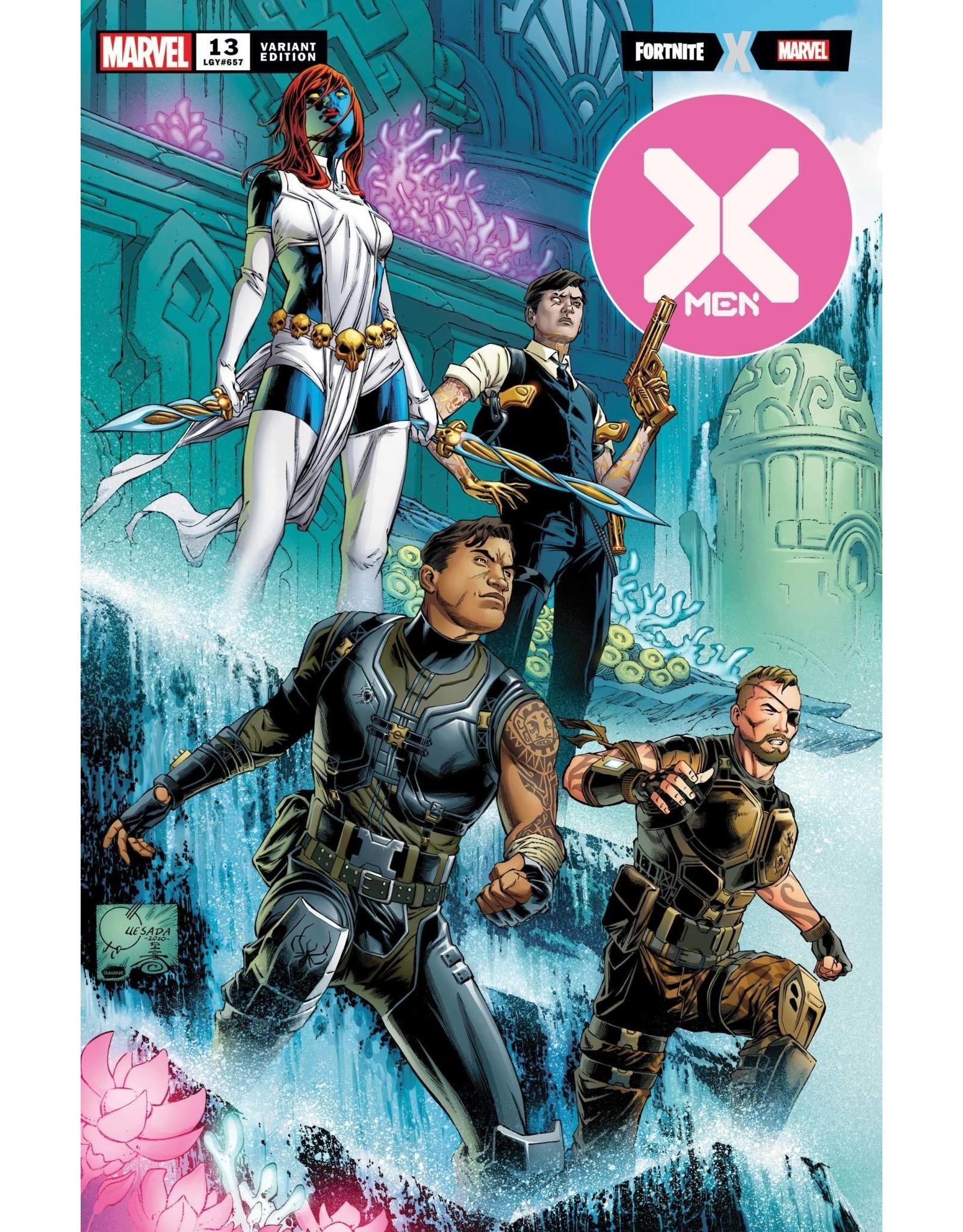 Marvel Comics X-MEN #13 QUESADA FORTNITE VAR XOS