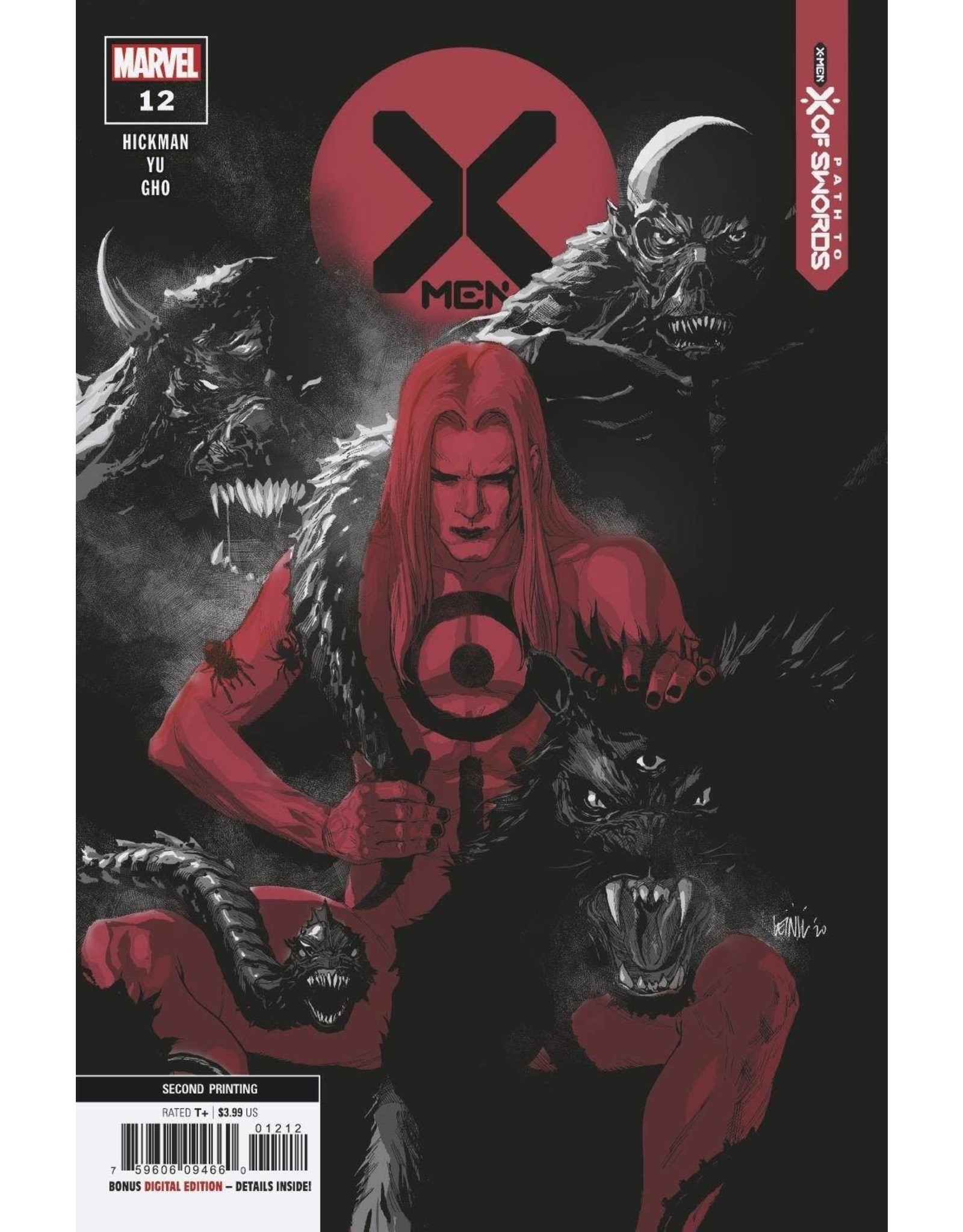 Marvel Comics X-MEN #12 2ND PTG YU VAR EMP XOSP