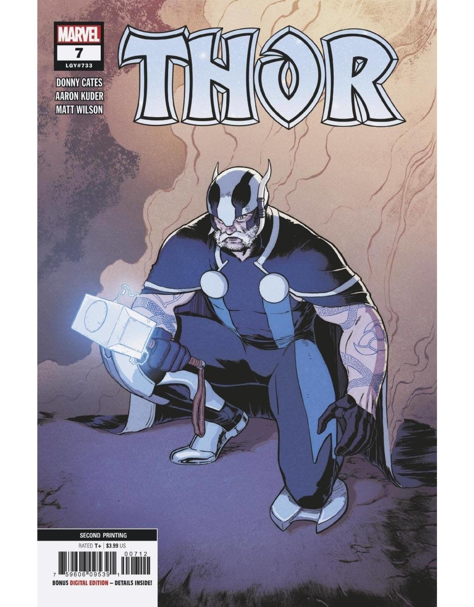 Marvel Comics THOR #7 2ND PTG KLEIN VAR