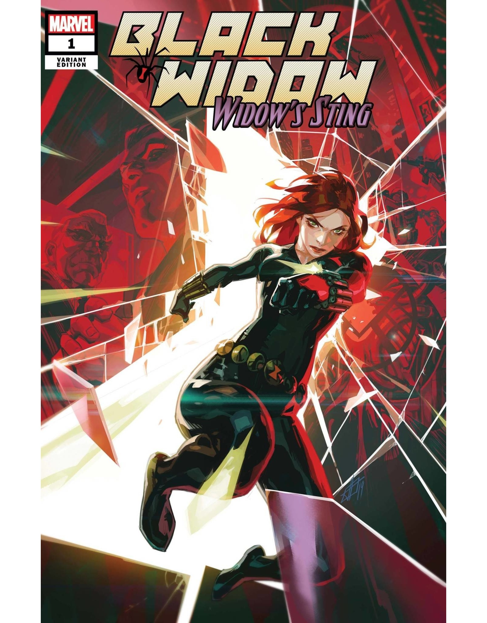 Marvel Comics BLACK WIDOW WIDOWS STING #1 INFANTE VAR