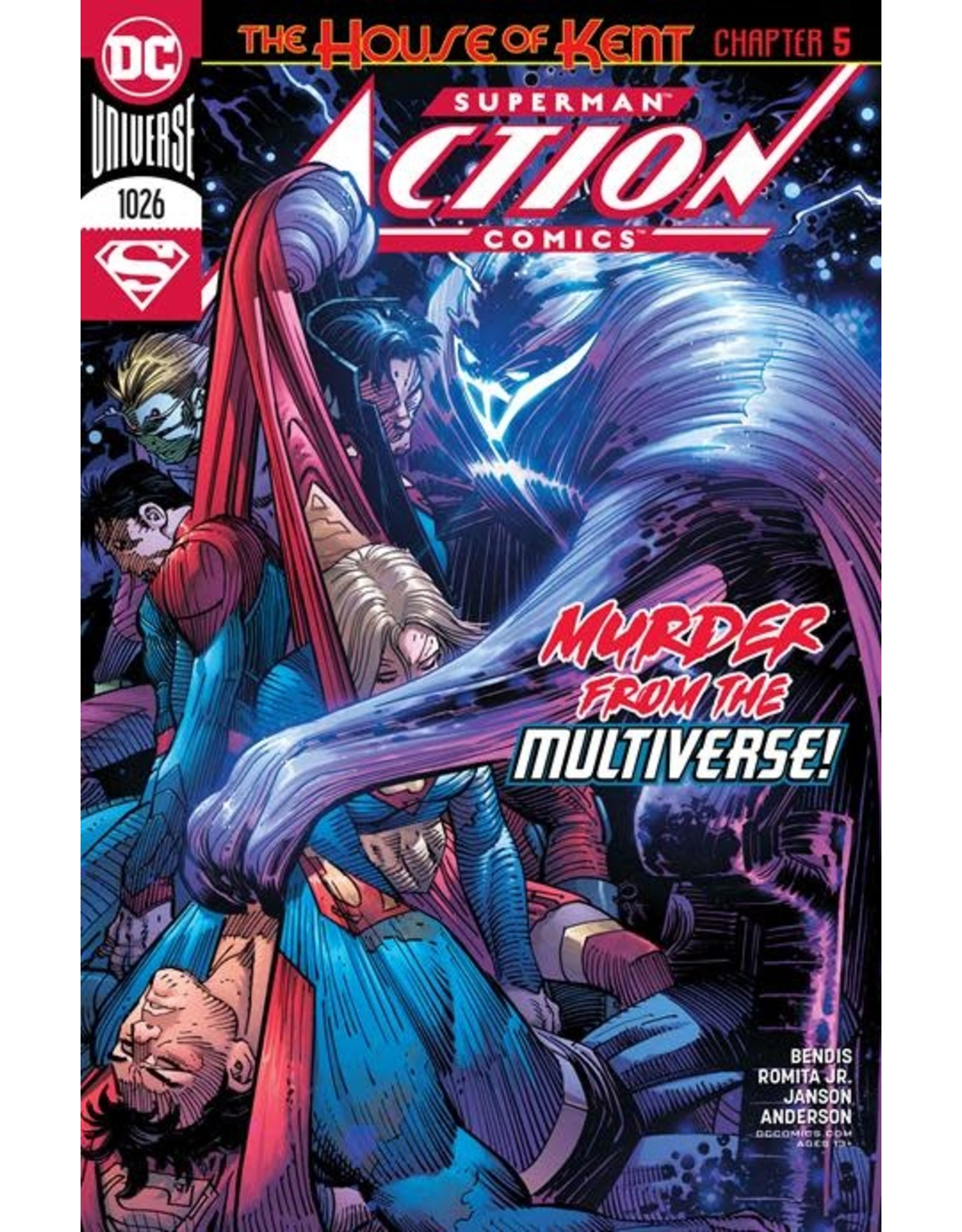 DC Comics ACTION COMICS #1026 CVR A JOHN ROMITA JR & KLAUS JANSON