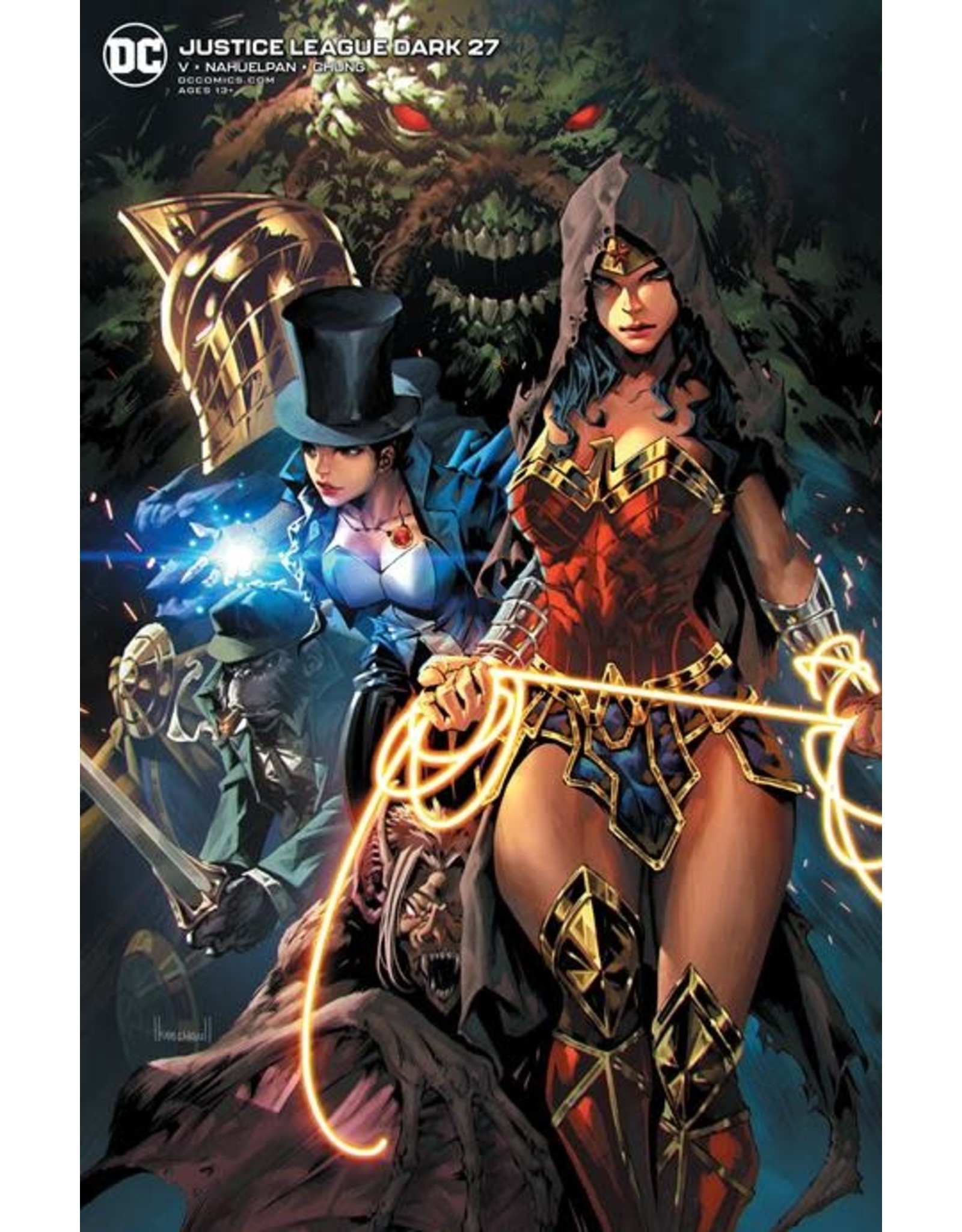 DC Comics JUSTICE LEAGUE DARK #27 CVR B KAEL NGU VAR
