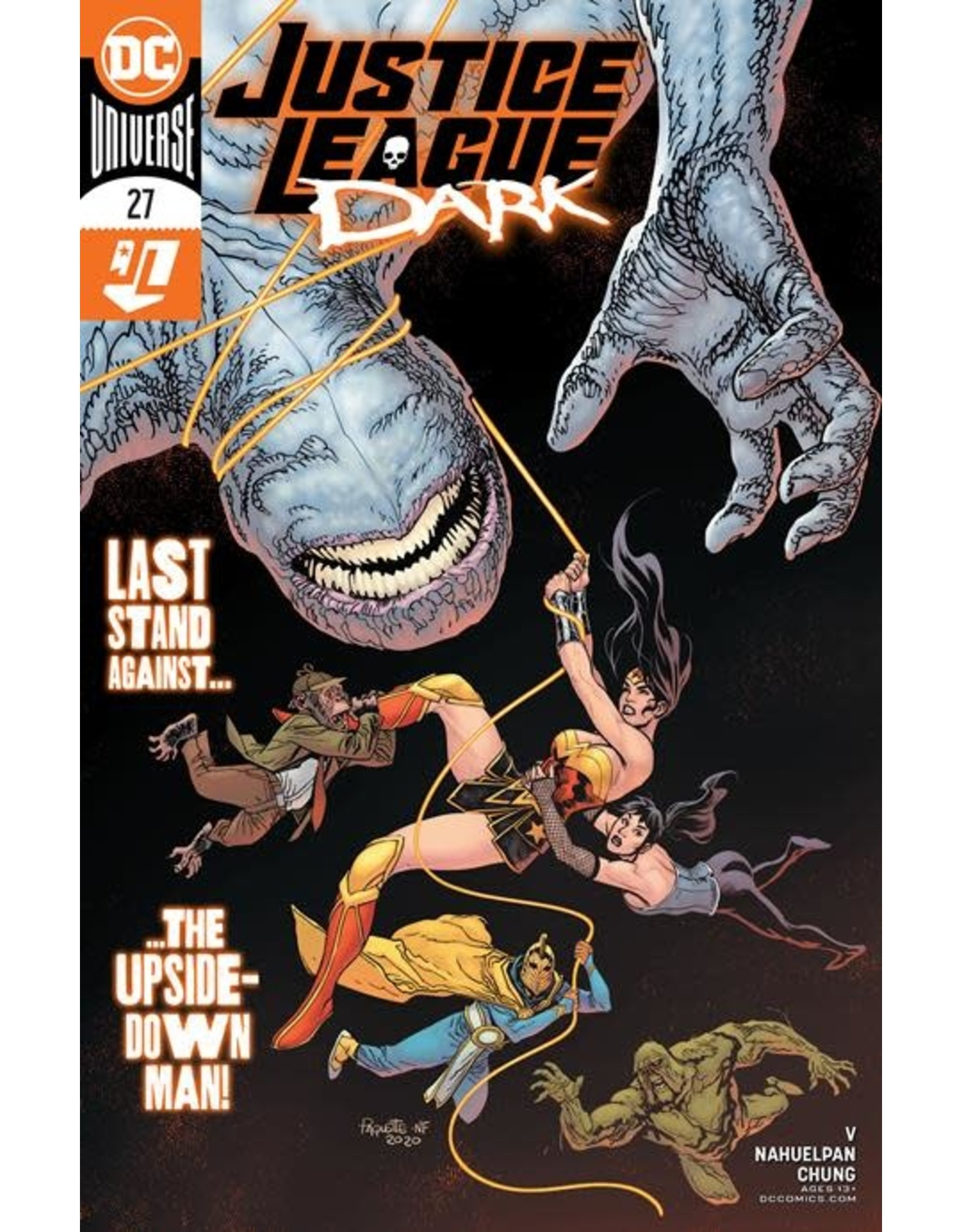 DC Comics JUSTICE LEAGUE DARK #27 CVR A YANICK PAQUETTE