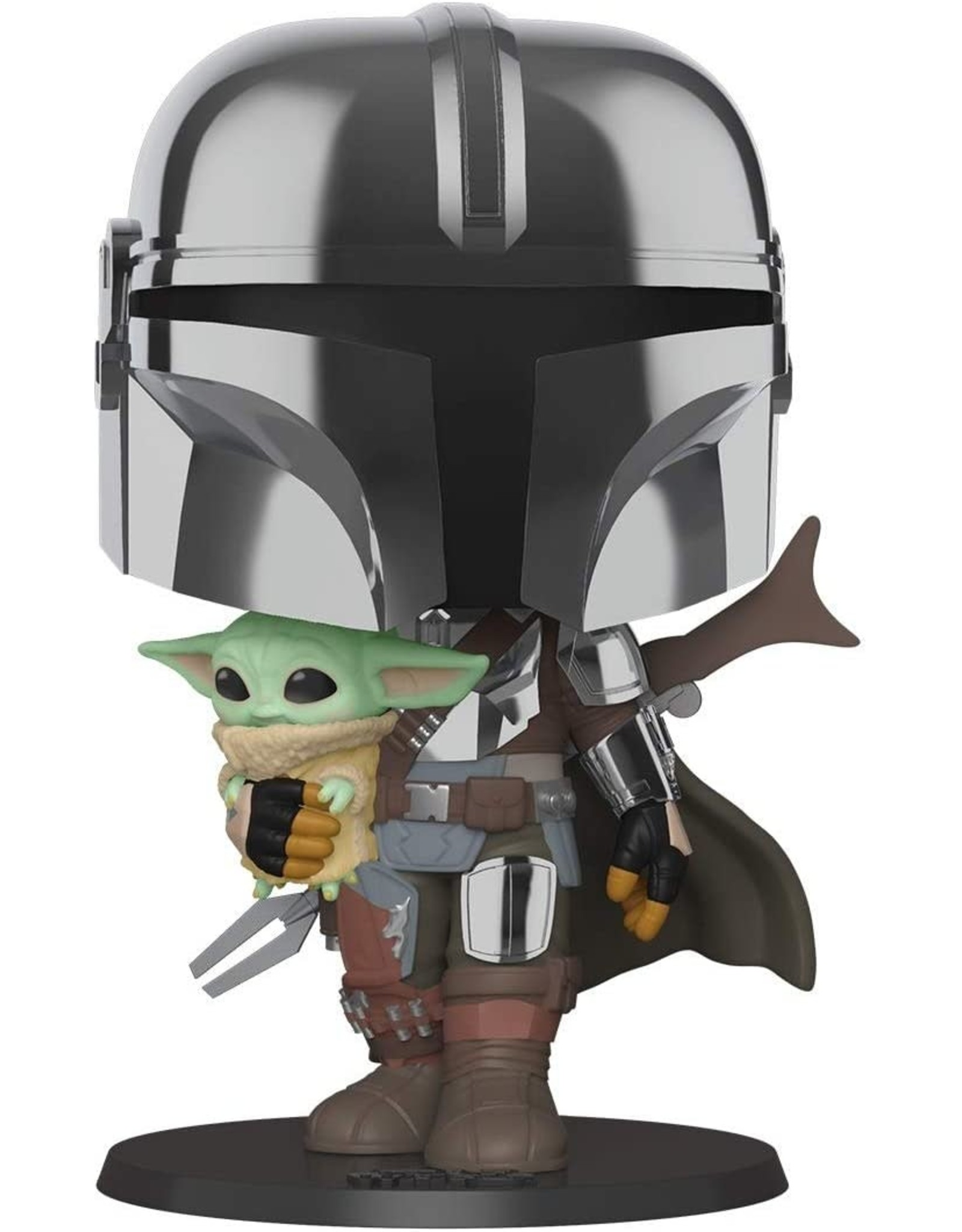 Funko Star Wars: The Mandalorian Chrome 10-Inch Pop! Vinyl Figure