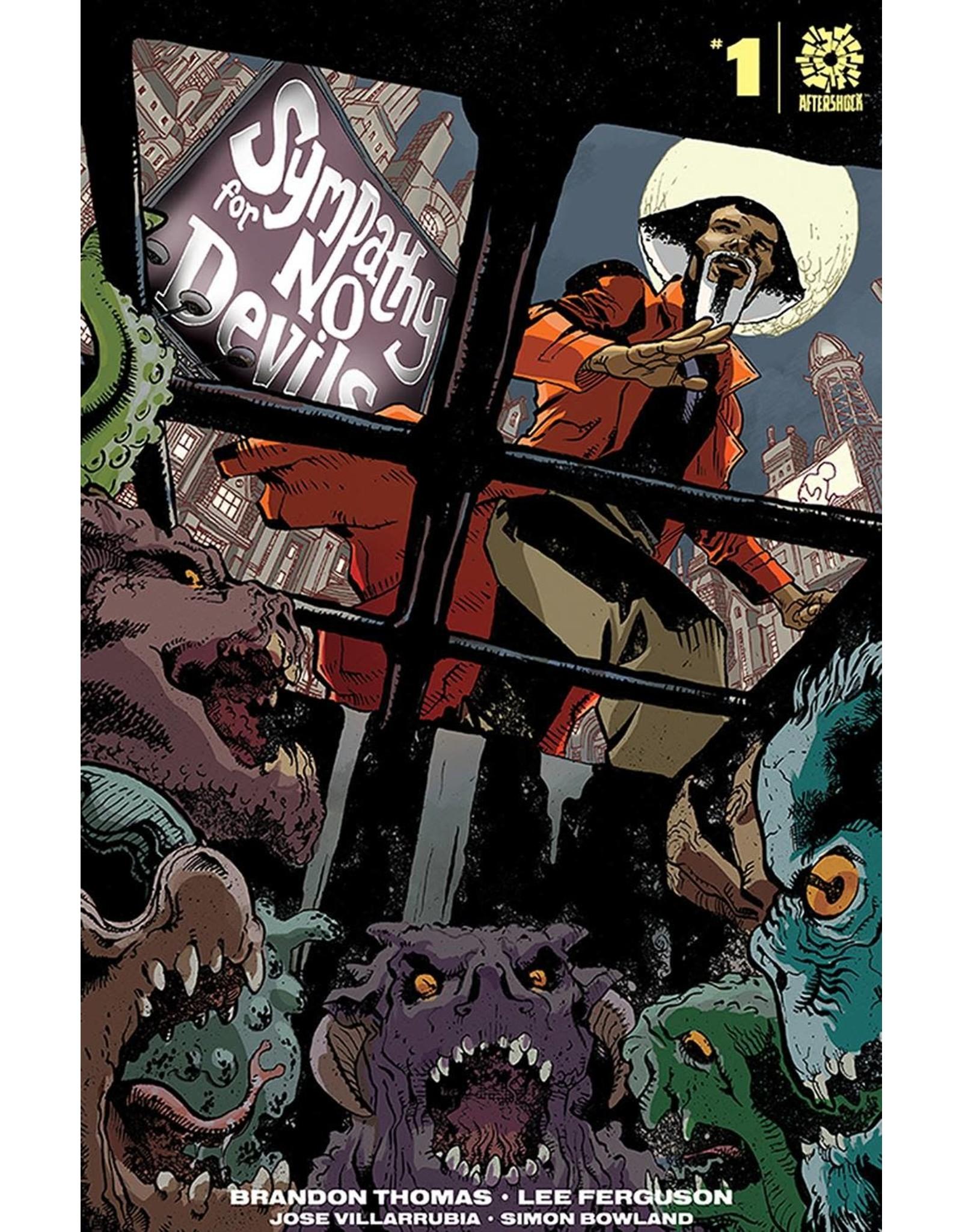 AFTERSHOCK COMICS SYMPATHY FOR NO DEVILS #1 15 COPY JEANTY INCV (RES)