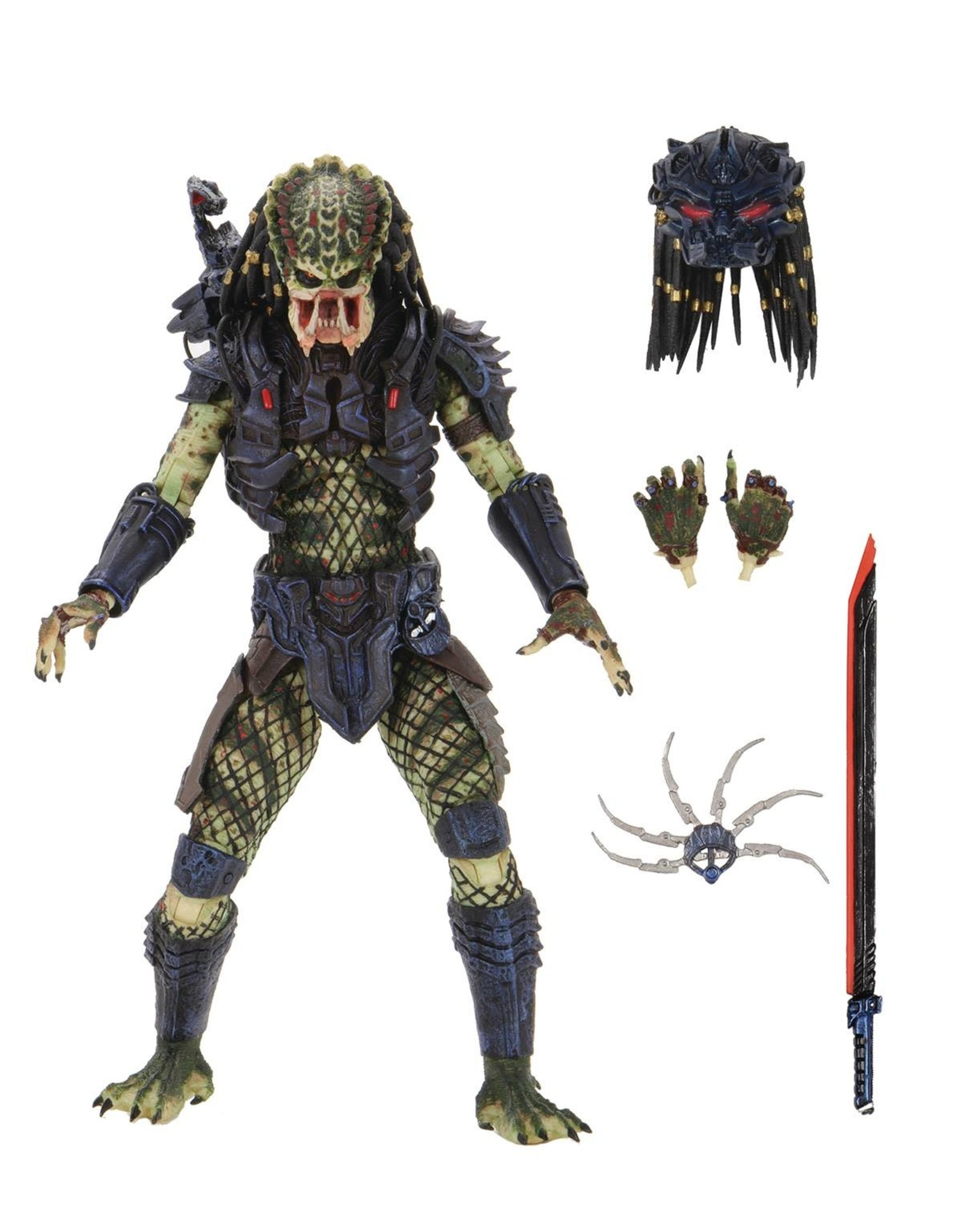 NECA PREDATOR 2 ULTIMATE LOST PREDATOR 7IN AF (C: 1-1-2)