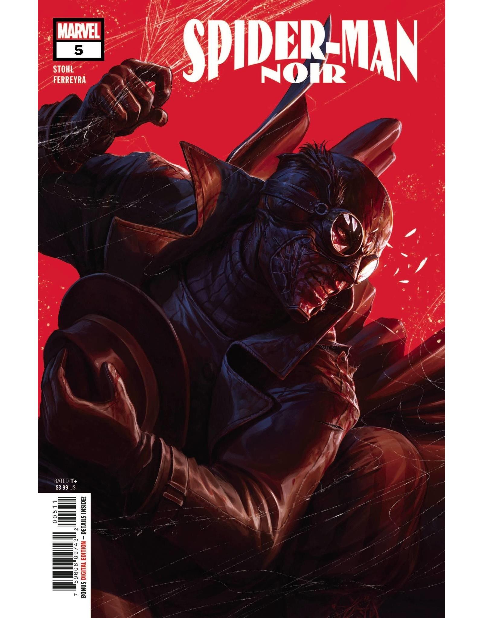 Marvel Comics SPIDER-MAN NOIR #5 (OF 5)