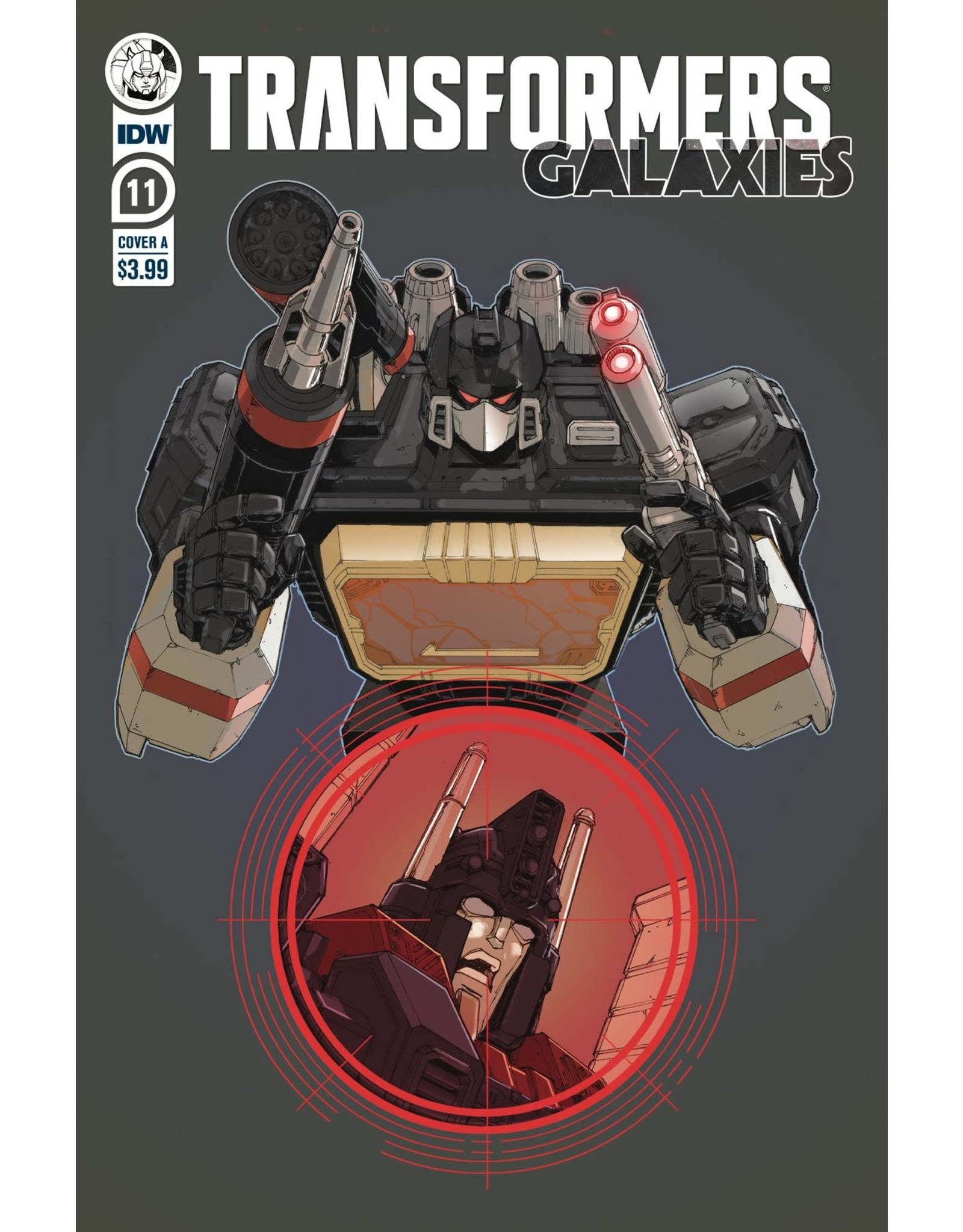 IDW PUBLISHING TRANSFORMERS GALAXIES #11 CVR A GRIFFITH