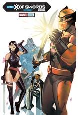 Marvel Comics X OF SWORDS STASIS #1 DEL MUNDO VAR