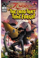 AMERICAN MYTHOLOGY PRODUCTIONS ZORRO IN LAND THAT TIME FORGOT #1 CVR A MARTINEZ